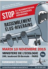Affiche de la mobilisation du 10/11/2015