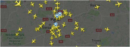 suivi temps reel avec FlightRadar24